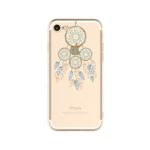 blue dream catcher phone case