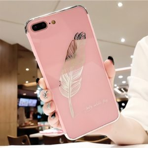Quill pen pink iphone case
