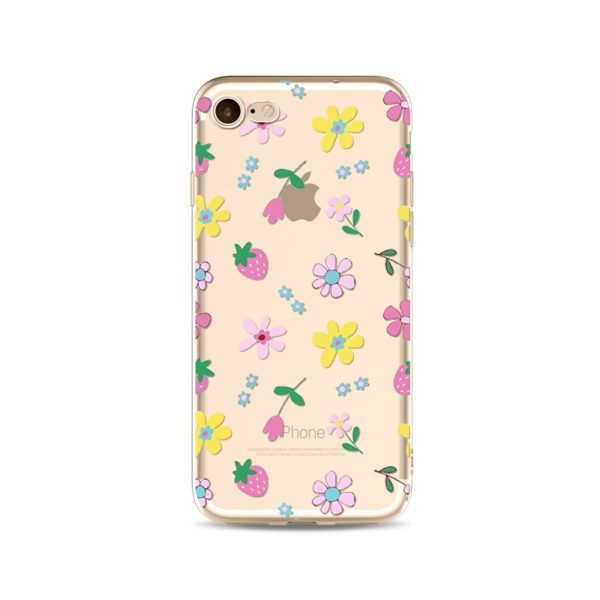 Pink Wildflower phone case