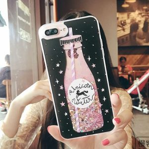 Glitter Unicorn Water Phone Case