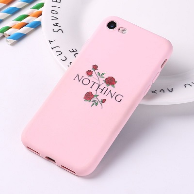 Nothing floral phone case