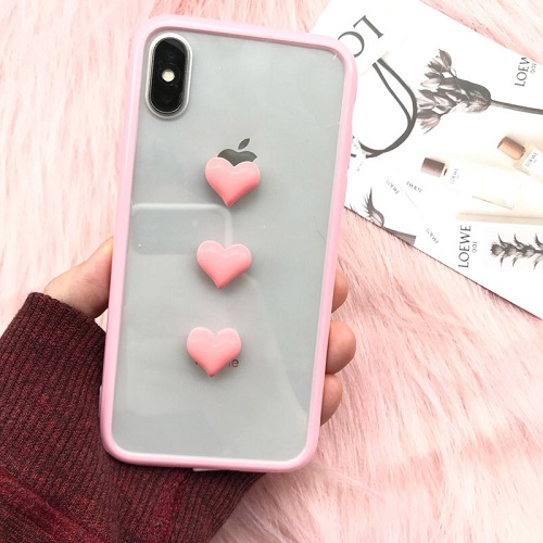 Love pink phone case
