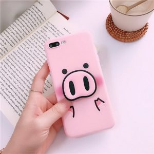 Pig nose phone case