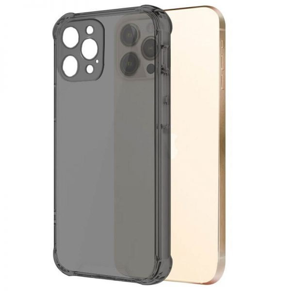 Black Shockproof Clear iPhone Case