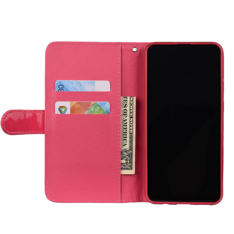 Leather Wallet iPhone Case With Hand Strap (5)