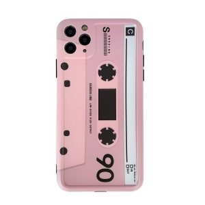 Pink Cassette Tape iPhone Case