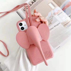 Pink elephant phone case - pinkphonecase