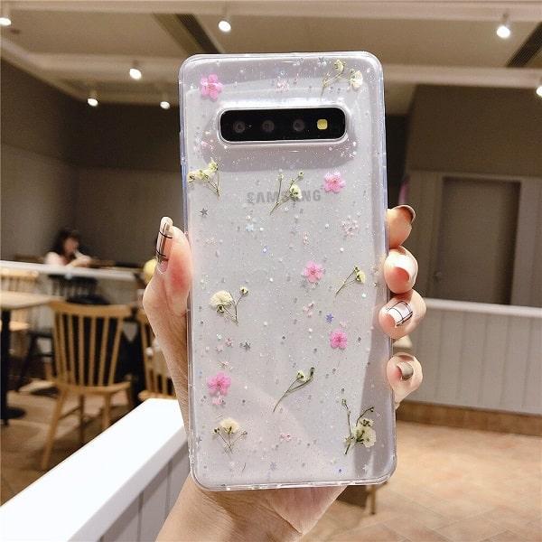 Pressed Flower Samsung Phone Case