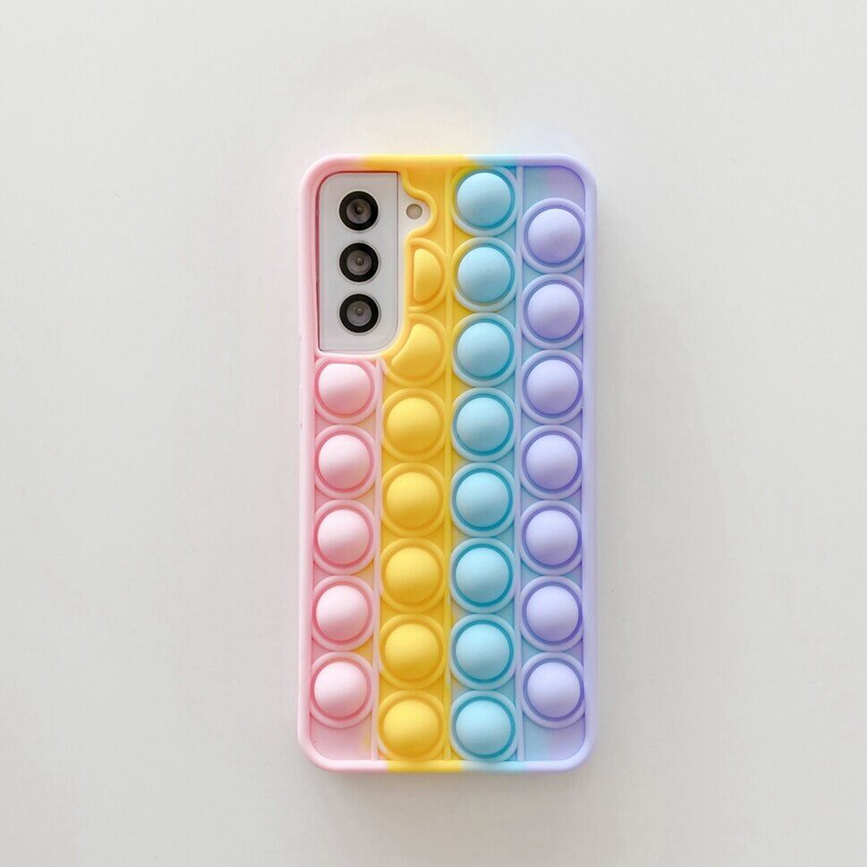 fidget pop up phone case