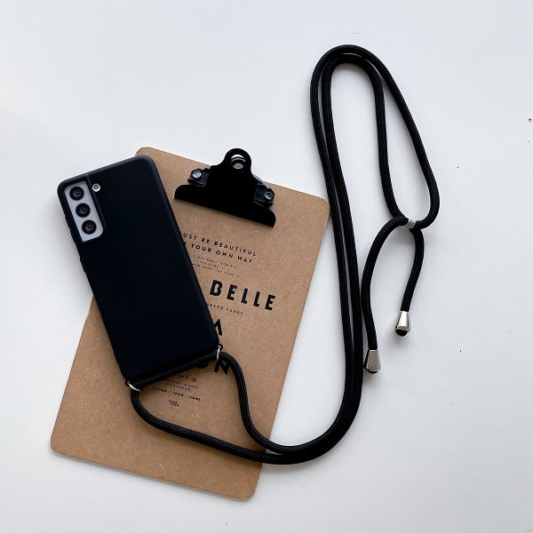 Samsung Galaxy S21 case with lanyard